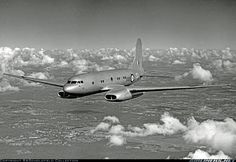 Avro 688 Tudor testbed fitted with Rolls Royce Nene