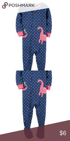 1-Piece Elephant Snug Fit Cotton PJs  f8411d343