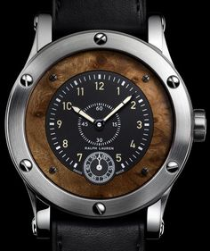 Combining his passion for fine automobiles with his passion for fine watches, Ralph Lauren unveils this new timepiece design recalling the refined interior of his model 1938 Bugatti Type Atlantic Coupe. Sport Watches, Cool Watches, Watches For Men, Men's Watches, Fine Watches, Wrist Watches, Ralph Lauren, Bugatti, Look Fashion