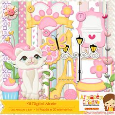 Kit digital Marrie Já a venda na loja  http://acriativo.com/loja/index.php?main_page=product_info=34_id=648