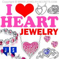►► I ❤️ HEART JEWELRY ►► Jewelry Secrets