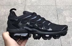 f3bb00f9276 Our Best Look Yet At The Nike Air VaporMax Plus Triple Black