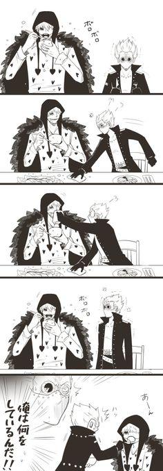 One Piece, Corazon, Gradius