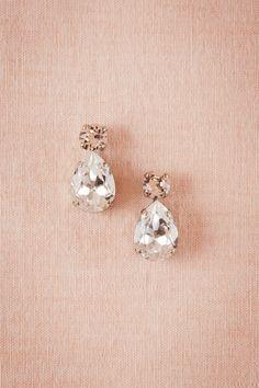 BHLDN Layla Drop Earrings in  Bride Bridal Jewelry at BHLDN