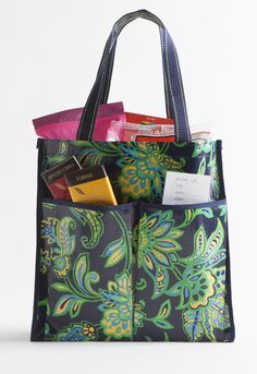 The six pocket tote by Mixed Bag Designs: the ultimate reusable shopping bag!