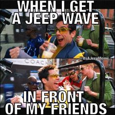 Anyone else have trouble getting Jeep waves when friends ride?  Zoolander anyone? @Rampage Products helped me come up with this one #Padgram