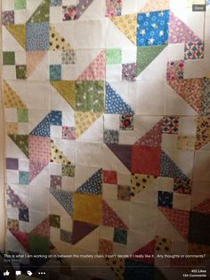 Scrap quilt Star Quilts, Scrappy Quilts, Baby Quilts, Sewing Crafts, Patches, Blanket, Rugs, Quilt Pictures, Quilting Ideas