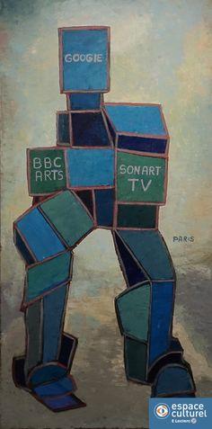 Diaporama Michel PARIS - Cubisme Sentimental | Galerie | Le site de l'Espace Culturel Leclerc & Galerie d'art de Gap