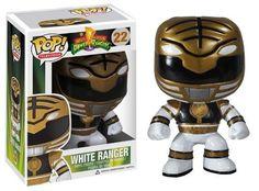 Hero World White Ranger Power Rangers 2 Pack FunKo Free Shipping!