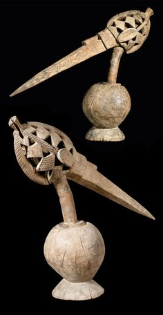 Africa | Shrine object ~ a-Tshol ~  from the Baga people of Guinea | Wood