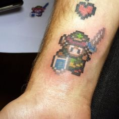 Tattoo-Foto: A Link to the Past 2