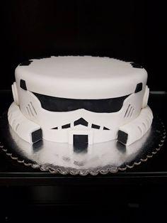Star Wars Storm Trooper Grooms Cake