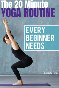 Are you a complete beginner to yoga? This 20 minute yoga routine for beginners will help you tone, improve flexibility, lose weight, and build a strong foundation of some of the most essential yoga… Pilates, Bikram Yoga, Ashtanga Yoga, Kundalini Yoga, Yoga Fitness, Yoga Style, Yoga Routine For Beginners, Improve Flexibility, Basic Yoga