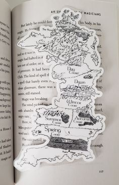 Sara J Maas, End Of The Week, Home Printers, Bookmarks, Bubbles, Plastic, Map, Note, Printed