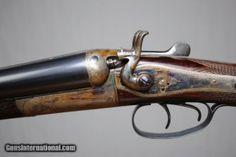 Thomas Wild 12 gauge Hammergun Double Barrel Shotgun