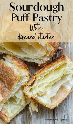 Sourdough Starter Discard Recipe, Sourdough Recipes, Bread Recipes, Cooking Recipes, Sourdough Bread, Donut Recipes, Beignets, Homemade Pastries, Homemade Breads