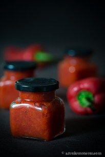 Paprikakrém kápia paprikából Chili, Canning Pickles, Pickling Cucumbers, Hungarian Recipes, Jar Gifts, Food 52, Ketchup, Chutney, Food Storage