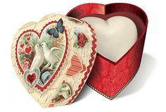 Heart Soap in Lovebirds Box, Verbena at One Kings Lane