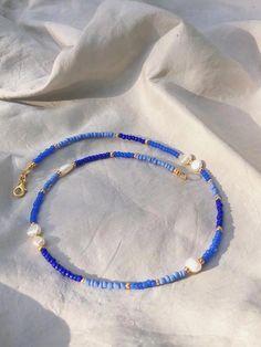 Bead Jewellery, Beaded Jewelry, Jewelry Necklaces, Beaded Bracelets Tutorial, Seed Bead Necklace, Diy Necklace, Necklace Ideas, Seed Beads, Bracelet Designs