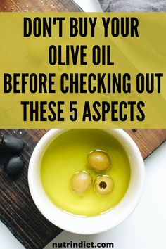 Before buying your extra virgin olive oil, take a look at these simple but important aspects that will guide you in choosing the best olive oil. See these tips, as they will make all the difference. #buyoliveoil #chooseoliveoil Complete Nutrition, Nutrition Plans, Healthy Nutrition, Healthy Foods, Olive Oil Brands, Clean Eating Grocery List, Healthy Food To Lose Weight, Weight Loss Diet Plan