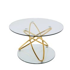 Atoma coffee table gold