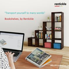 For a bookworm, there's nothing more satisfying than an endless supply of books, and a beautiful bookshelf to keep those beloved books. A good book brings peace to your life like nothing else! Bring home this must-have addition from Rentickle.   Thinking of Renting. Think of Rentickle!  . . #bookloversday #bookshelves #homeinspo #homedecor #rentickle #rentfurniture #apartmentdecor #booksofinstagram #bookholics #istagrambooks #nationalbookloversday #booklover #reading #booksgram #booksblog