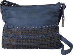 Depeche Urban Rebel Umhängetasche Damenmode Outfit #OOTD #blue #blau #accessoires #Handtasche