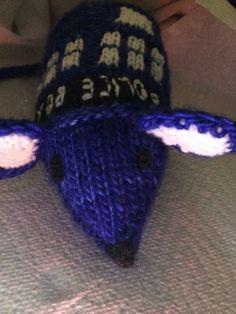 Ravelry: jenniferkm's TARDIS Mouse #2