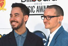 Mike Shinoda Photos Photos - Musicians Mike Shinoda (L) and Chester Bennington of Linkin Park arrive at the 2012 Billboard Music Awards held at the MGM Grand Garden Arena on May 20, 2012 in Las Vegas, Nevada. - 2012 Billboard Music Awards - Arrivals