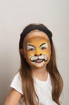 paso a paso maquillaje león