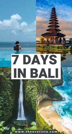 7 day Bali itinerary including Ubud, Canggu, Uluwatu and Nusa Penida | Prettiest places in Bali | Hidden Gems In Bali | Best things to do in Bali | Bali Travel Guide | How to plan the best Bali trip | Tips for spending 7 days in Bali | Bucket list locations in Bali | Tips and Tricks for a Bali vacation | Best waterfalls in Bali | Where to stay in Bali | Best Bali Beaches | Epic photo spots in Bali | Bali Bucket list | Must see places in Bali #bali #indonesia #ubud #canggu #nusapenida #traveltips Bali Travel Guide, Top Travel Destinations, Asia Travel, Solo Travel, Travel Tips, Laos, Texas, Ways To Travel, London