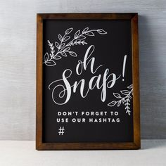 "- Measures 12"" x 16"" - Walnut stain - Hand-lettered and hand-made - Imported"