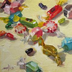 """Eye Candy"" - Original Fine Art for Sale - © Patti Mollica"