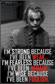 Most memorable quotes from Joker, a movie based on film. Find important Joker Quotes from film. Joker Quotes about who is the joker and why batman kill joker. Great Quotes, Quotes To Live By, Me Quotes, Motivational Quotes, Inspirational Quotes, Qoutes, Motivational Thoughts, Joker Frases, Joker Quotes