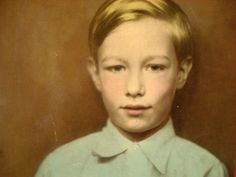 Andy warhol as a child found