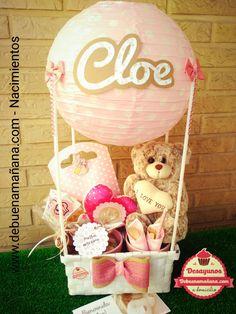 debuenamañana.comregala momentos, todos nuestros desayunos están totalmente personalizados,  es un regalo que a la vez de sorprender, te da la energía que necesitas para el comienzo de un día diferente... Baby Gift Hampers, Baby Shower Gift Basket, Baby Baskets, Baby Shower Cakes, Baby Shower Gifts, Barbie Theme Party, Candy Bouquet, Original Gifts, Jar Gifts