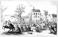 The reason the Women's March on Versailles took place was someone was hoarding the flour, some one was adding plaster to it, and prices were too high!