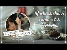 Demi-tarif - Rochers choco/noisettes comme les Ferrero | Cuisine de Salon - YouTube