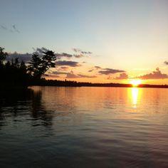 Sunset on Lake Vermillion