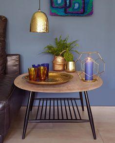 Herbstliche Stimmung Bei Liv Interior Mit Warmen Gold  Und Brauntönen
