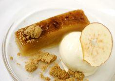 Compressed apple terrine - original recipe from Raymond Blanc.