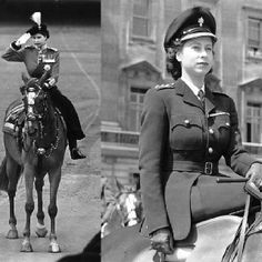 photos of Queen Elizabeth in the past, in celebration of her Jubilee