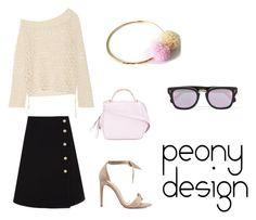 Peony Design by teri-peony on Polyvore featuring Jonathan Simkhai, Gucci, Alexandre Birman, The Volon and Illesteva