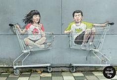 Singapur Streetart