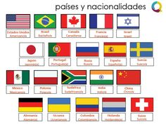 7 Español Países Y Nacionalidades Ideas Spanish Vocabulary Learning Spanish Teaching Spanish