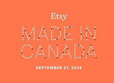 Join Us for Etsy: Made in Canada on Etsy  Find minouette at MaRS in Toronto on September 27, and profiled in Etsy's blog today