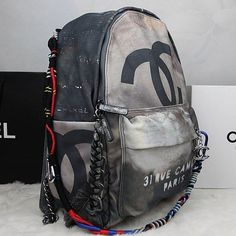 chanel graffiti backpack!!!!!!!!!!!!!!!!!!!!! go place your order now~