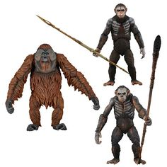 Dawn of the Planet of the Apes Series 1 Action Figure Case Dawn Of The Planet, Planet Of The Apes, Figurines D'action, Gears Of War, Nightmare On Elm Street, Mortal Kombat, Planets, Action Figures, Beast