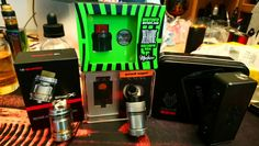 Just in... Snowwolf 85W, Geek Vape Zeus Duel, Wotofo Recurve (by Mike Vapes) and sent in from Nature Vape UK... the EHPro Billow X...