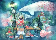 Il mondo di Mary Antony: Le illustrazioni di Taupe Syuka